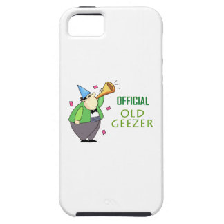 OFFICIAL OLD GEEZER iPhone 5 CASE