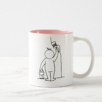 Official Painting Mug  w front/back design