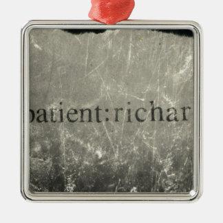 Official Patient: Richard Merch Christmas Ornament
