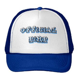 Official Pimp Trucker Hat