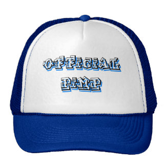 Official Pimp Trucker Hats