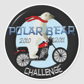 Official Polar Bear Challenge Stickers