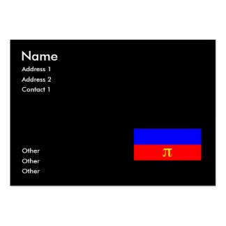 OFFICIAL POLYAMORY PRIDE FLAG - png Business Cards