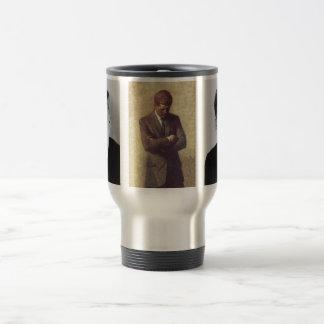 Official Portrait John F. Kennedy Stainless Steel Travel Mug