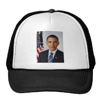 Official Portrait of president Barack Obama Cap