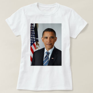 Official Portrait of president Barack Obama T-Shirt