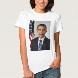 Official Portrait of president Barack Obama Tshirt