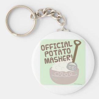 Official Potato Masher Key Ring
