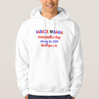 Official President Obama Inauguration Souvenir Hooded Sweatshirts