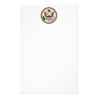 Official Presidential Seal Personalised Stationery