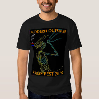 OFFICIAL RAGE FEST SK8ER TEE'S TEE SHIRT