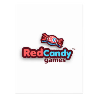 Official RedCandy Games Swag Post Card