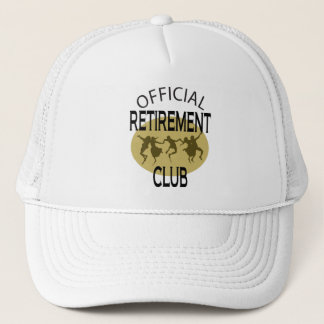 Official Retirement Club Trucker Hat