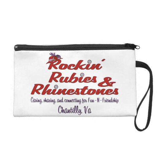 Official Rockin' Rubies & Rhinestones Wristlet