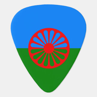 Official Romany gypsy flag Plectrum
