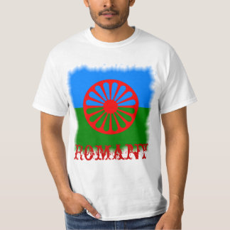 Official Romany gypsy flag T-Shirt
