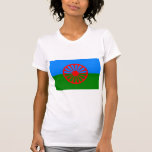 Official Romany gypsy flag Tshirts