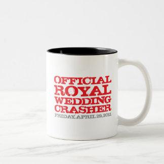 Official Royal Wedding Crasher Mugs
