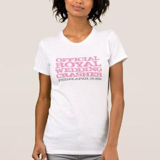 Official Royal Wedding Crasher Pink T-Shirt