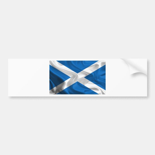 Official Scottish flag for the independence Bumper Sticker