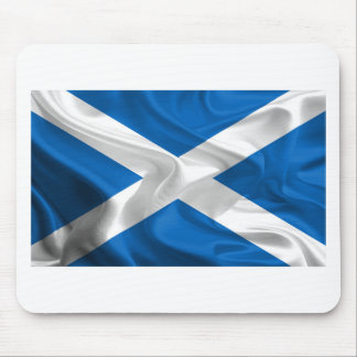 Official Scottish flag for the independence Mouse Mat