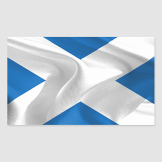 Official Scottish flag for the independence Rectangular Sticker