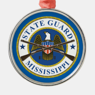 Official Seal Silver Ornament