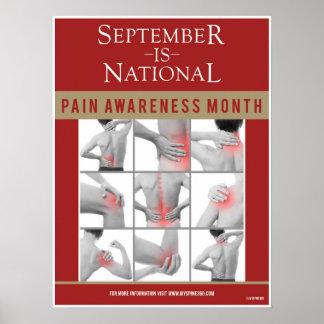 Official September Pain Awareness Poster