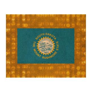 Official South Dakotan Flag Queork Photo Print