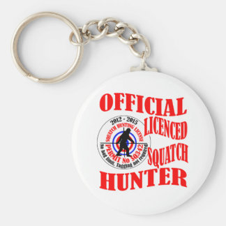 Official squatch hunter key ring