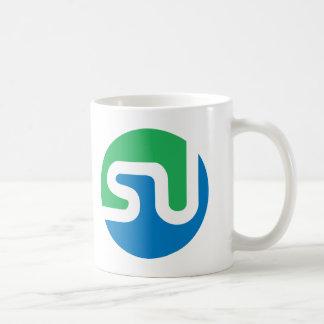 Official StumbleUpon logo Basic White Mug