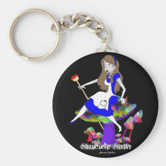 Official Suicide Sam Merch Art by Shannon Justice Key Ring