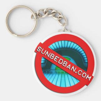 Official Sunbedban.com Keychain