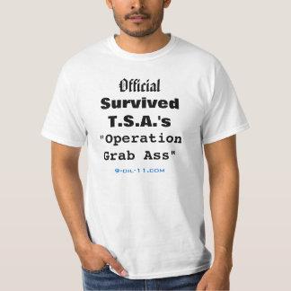 Official Survived TSA's Operation Grab Ass Shirt