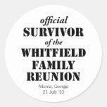 Official Survivor of Our Family Reunion