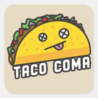 Official Taco Coma Design Sticker