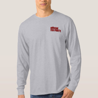 Official Tea Party LS Shirt Back: Let Freedom Ring
