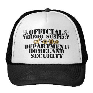 Official Terror Suspect Trucker Hat