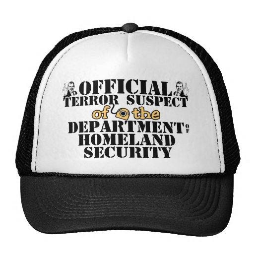Official Terror Suspect Hat
