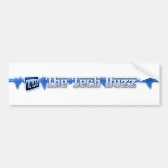 Official The Tech Buzz Logo Stickers