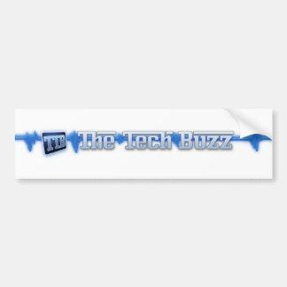 Official The Tech Buzz Logo Stickers Bumper Sticker