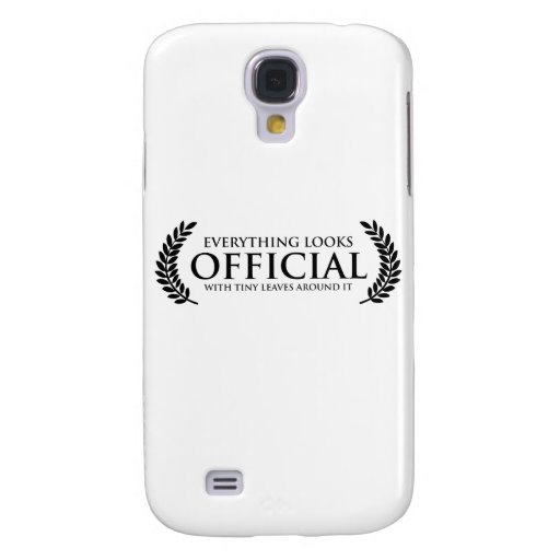 Official Tiny Leaves Galaxy S4 Case