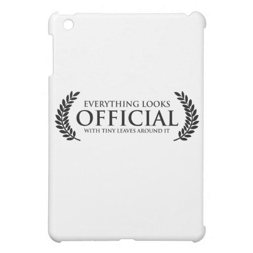 Official Tiny Leaves iPad Mini Covers