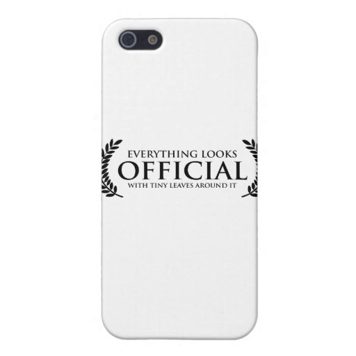 Official Tiny Leaves Covers For iPhone 5
