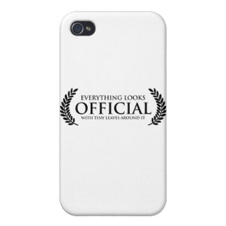 Official Tiny Leaves iPhone 4/4S Case