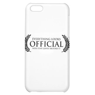 Official Tiny Leaves iPhone 5C Cover