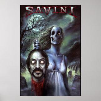 Official Tom Savini Zombie Poster