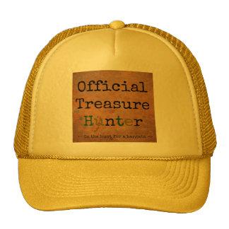 Official Treasure Hunter Trucker Hat