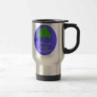 Official Tree-Hugger Stainless Steel Travel Mug