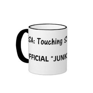 Official TSA Junk Inspector Dark Ringer Mug